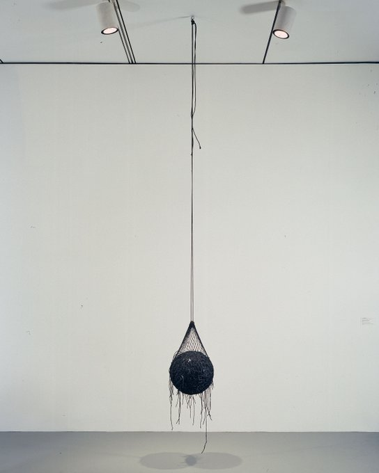 Happy Birthday to Eva Hesse, born 1936! Vertiginous Detour 1966