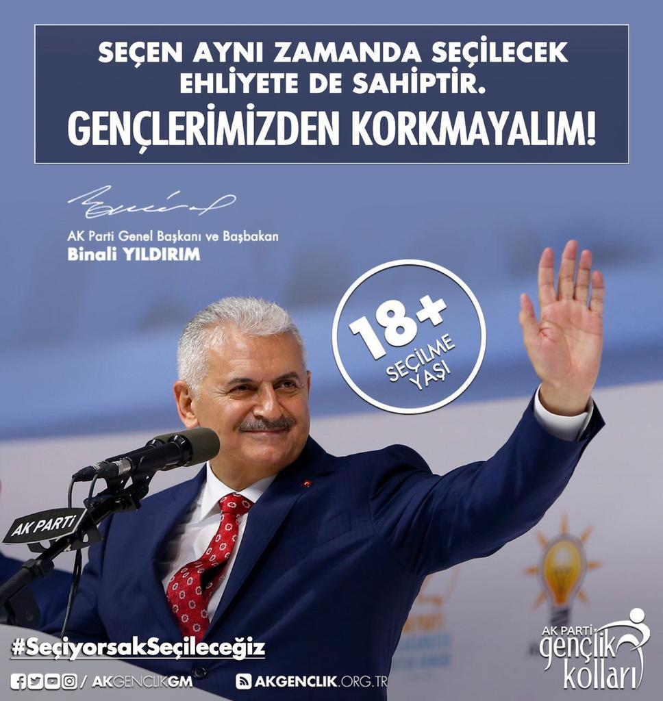 RT @AdanaAkGenclik: Gençler Meclise #SeçiyorsakSeçileceğiz https://t.co/fenG2RaAD5