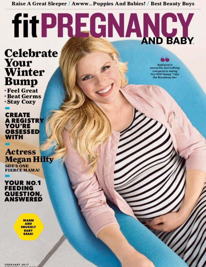 Thrilled and honored to be a @fitpregnancy cover girl! Thank you Laura Morgan for the great interview! https://t.co/cCXkE5KzIQ