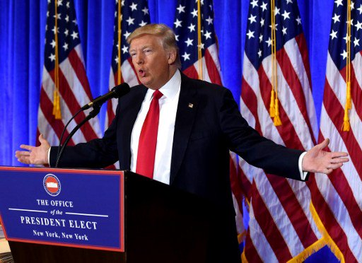 "Donald Trump asserts that he would be the ""greatest jobs producer that God ever created"" (PTI)"