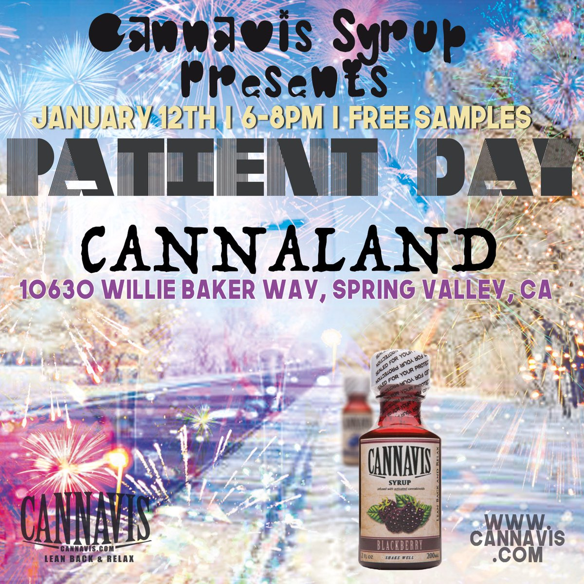 RT @CannavisSyrup: Patient days all over the country this week for cannavis syrup. Come see the truth for yourself! https://t.co/4g6tHYmItB