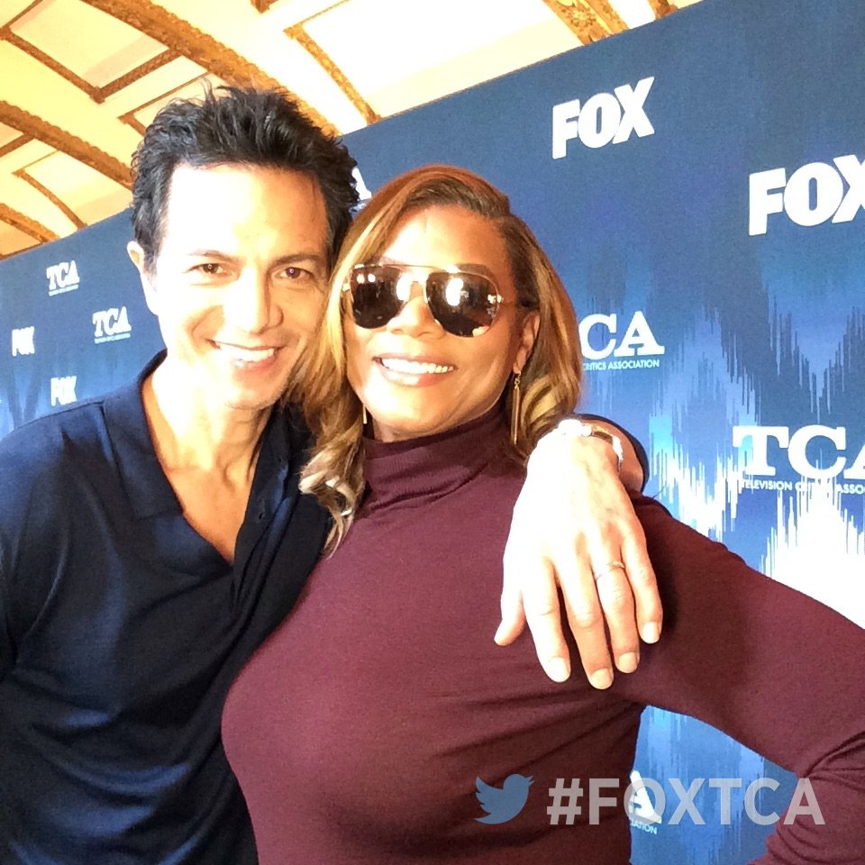 RT @FOXTV: Having fun at #FOXTCA with #BenjaminBratt & @IAMQUEENLATIFAH! @STAR #TCA17 #STAR https://t.co/72RqgwtJZt