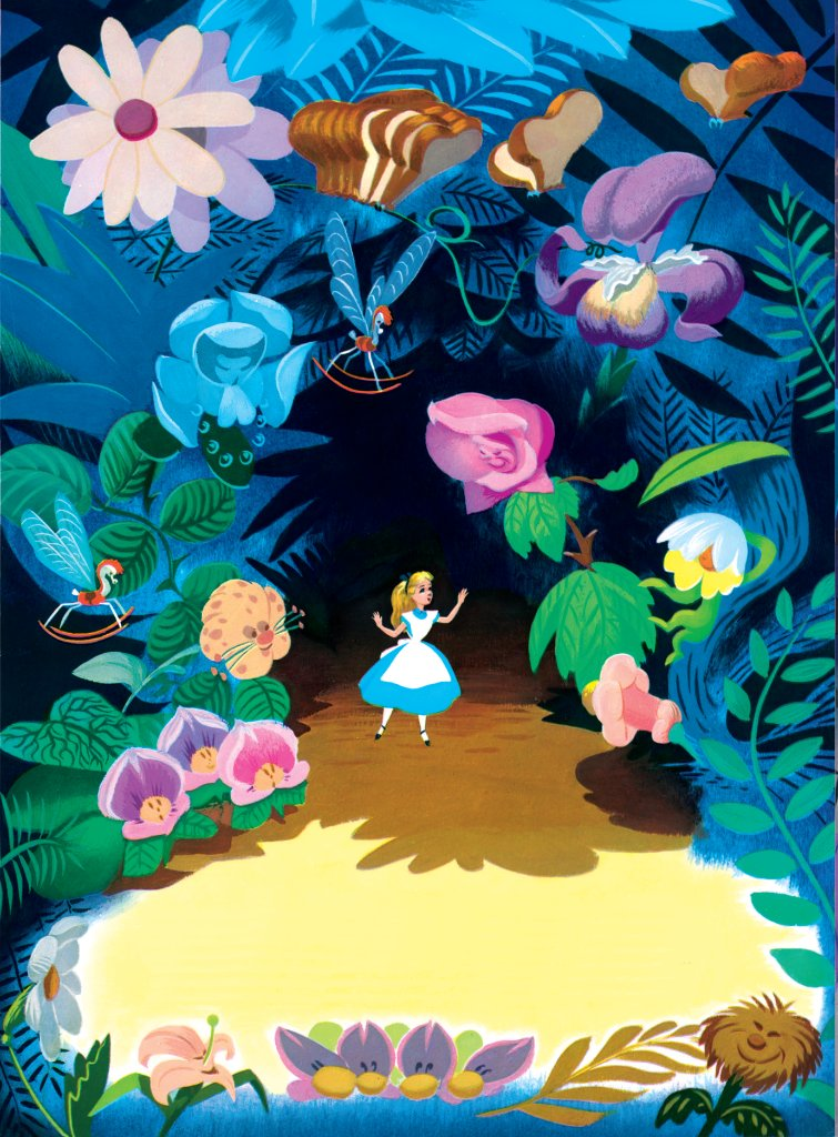 Find a friend among the 🌷🌻🌹🌼.(🎨 Disney Golden Books)
