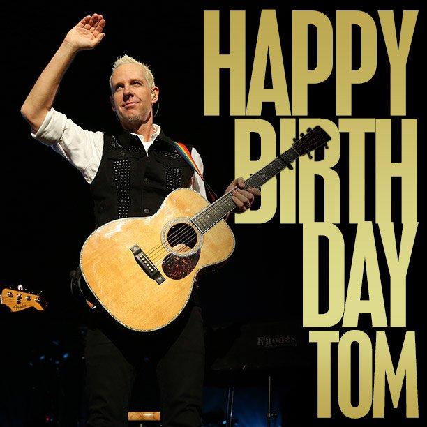 Happy birthday to our bandmate & best friend @TomDumont! https://t.co/JqKzTL4yYU