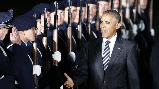 #BarackObama : le prix #Nobel de la paix qui largue trois bombes par heure VIDEO >>> https://t.co/S1aNOJTtWV