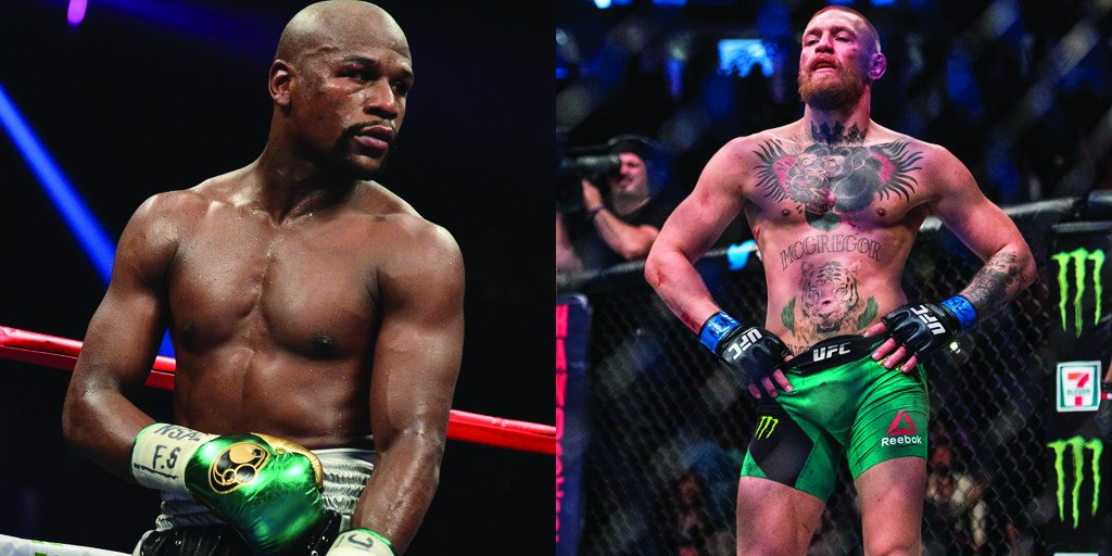 Floyd Mayweather willing to offer Conor McGregor $15M, percentage of PPV for fight. https://t.co/s6cxPftqiH https://t.co/NwdWwhFV0o