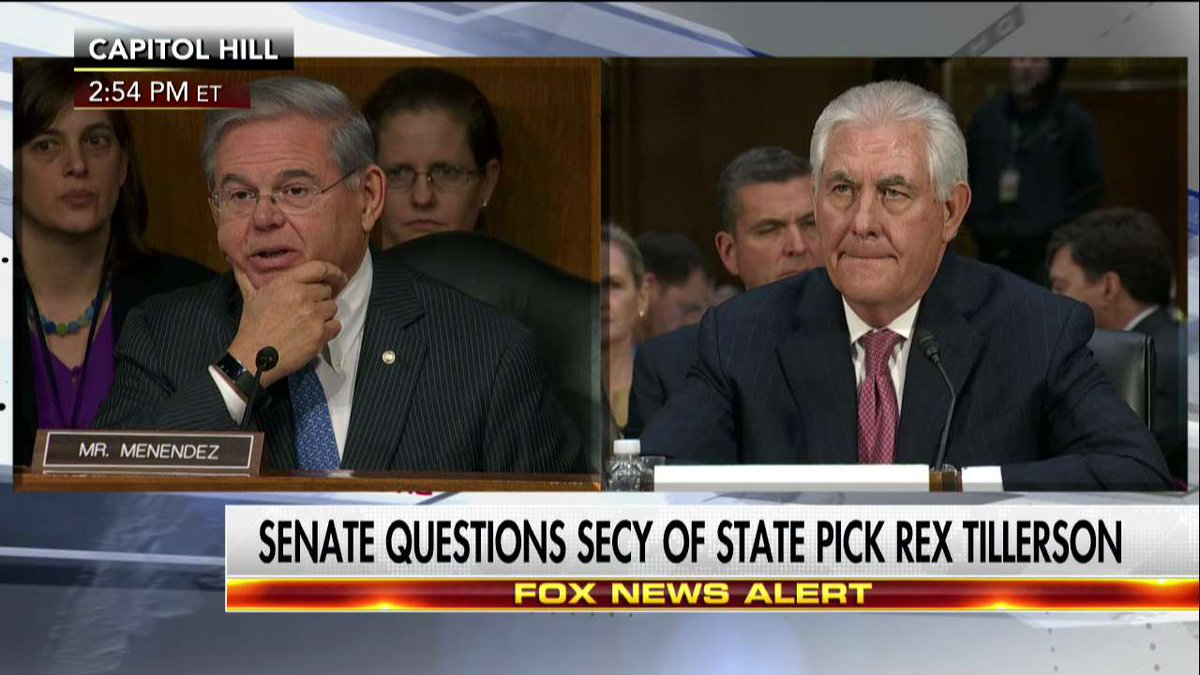 "Rex Tillerson ""I would never characterize an entire population of people with any single term at all."""