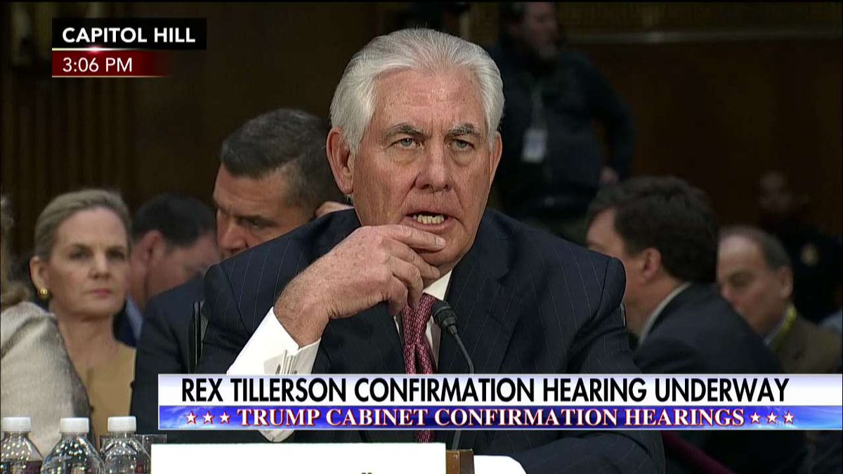 "Rex Tillerson ""About 60% of @exxonmobil's employees are non-Americans."""