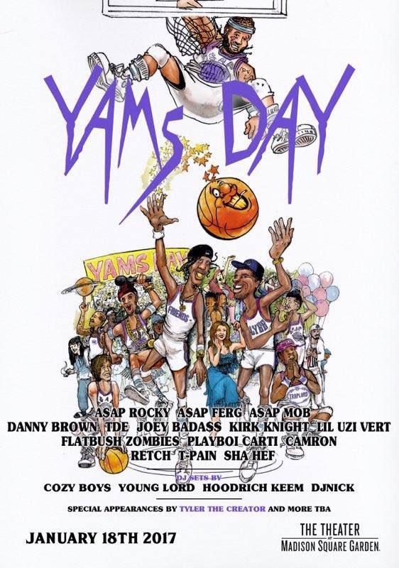 Yams Day