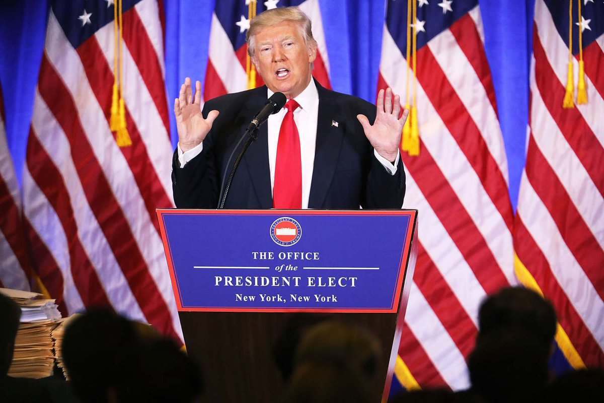 Trump's 1st press conference as president-elect, fact-checked (more updates coming later!)