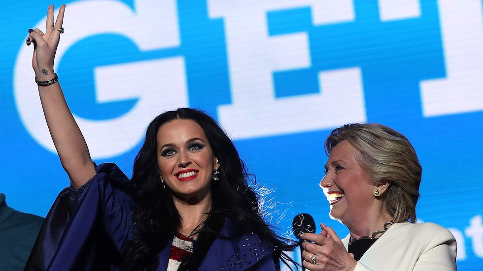 Katy Perry, Cher to join anti-Trump women's march