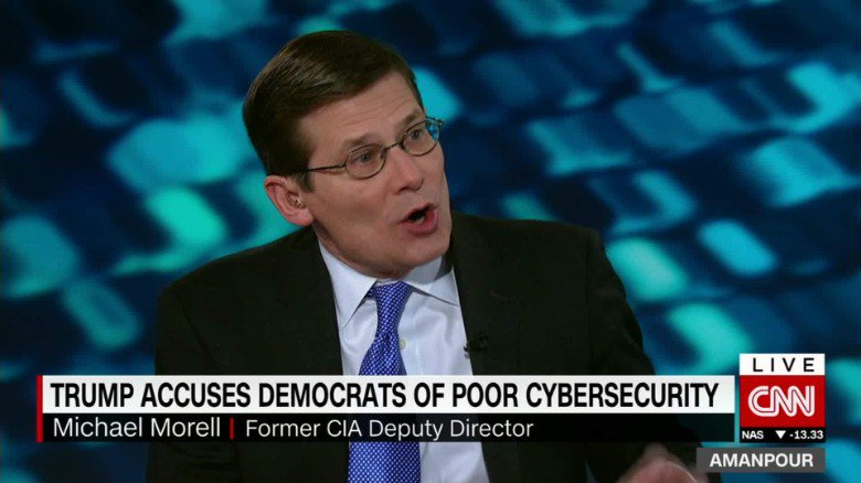 Former CIA leader: 'I was a bit surprised' that unverified intel was given to Trump https://t.co/iGjKqndkfb https://t.co/ncZk2aSPDH