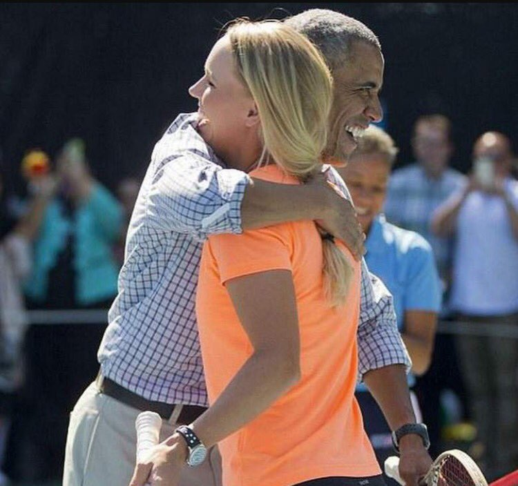Thank you Mr President!... I'll miss playing tennis with you at the White House���� https://t.co/lkgqLdrN8h