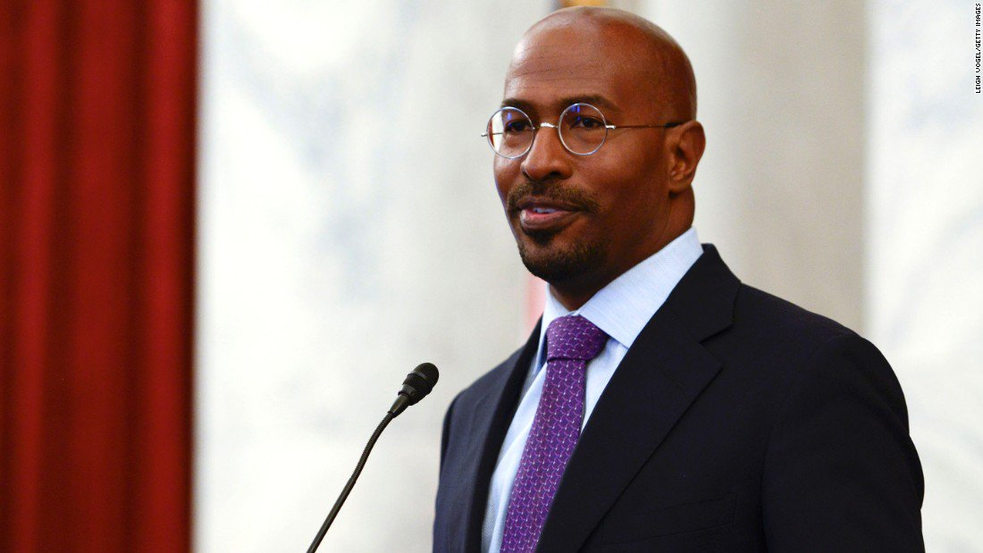 Van Jones: I have 'emotional whiplash' after Trump, Obama events https://t.co/xCvPSZnuGv #TheMessyTruth https://t.co/CbURQvvz6N