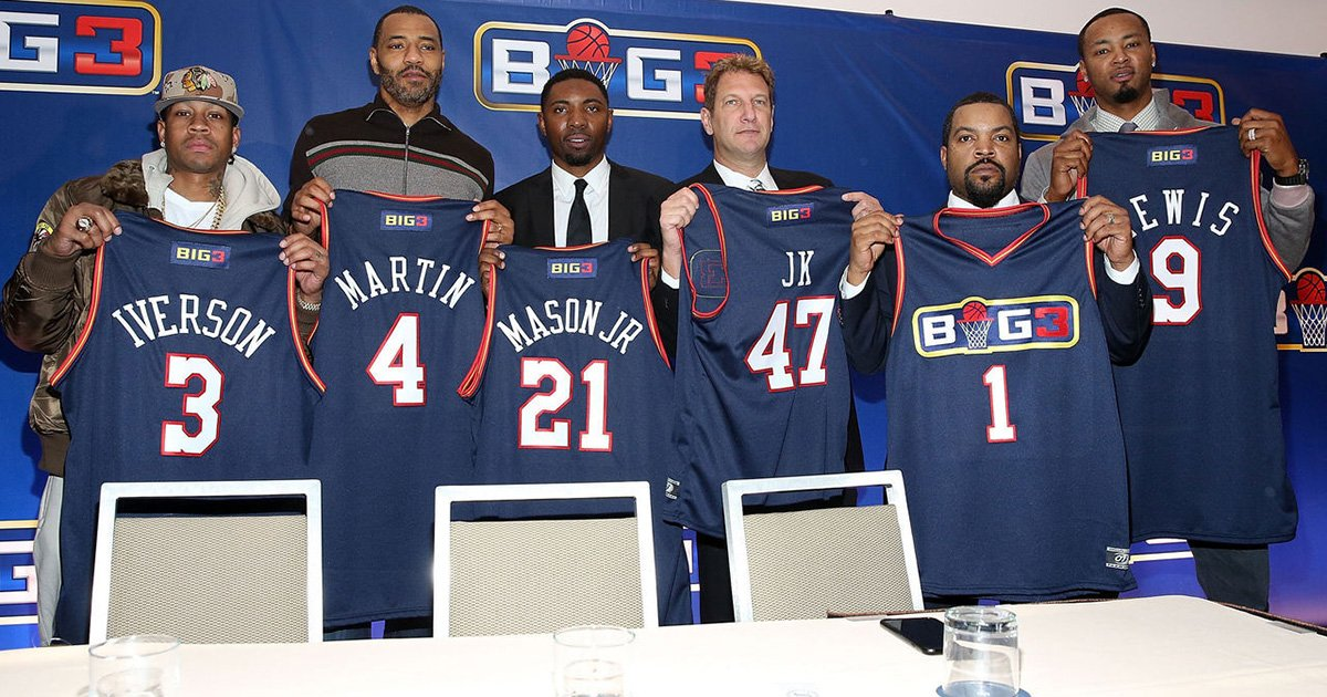 Allen Iverson and Ice Cube formally announce 3-on-3 league Big3. https://t.co/waqvN5QfXj https://t.co/mvgo4Iseg5