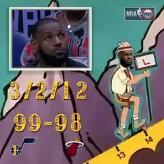 Ain't no mountain high, Ain't no valley low, LeBron has lost in Utah six times in a row... https://t.co/eBn3Ju6iGn