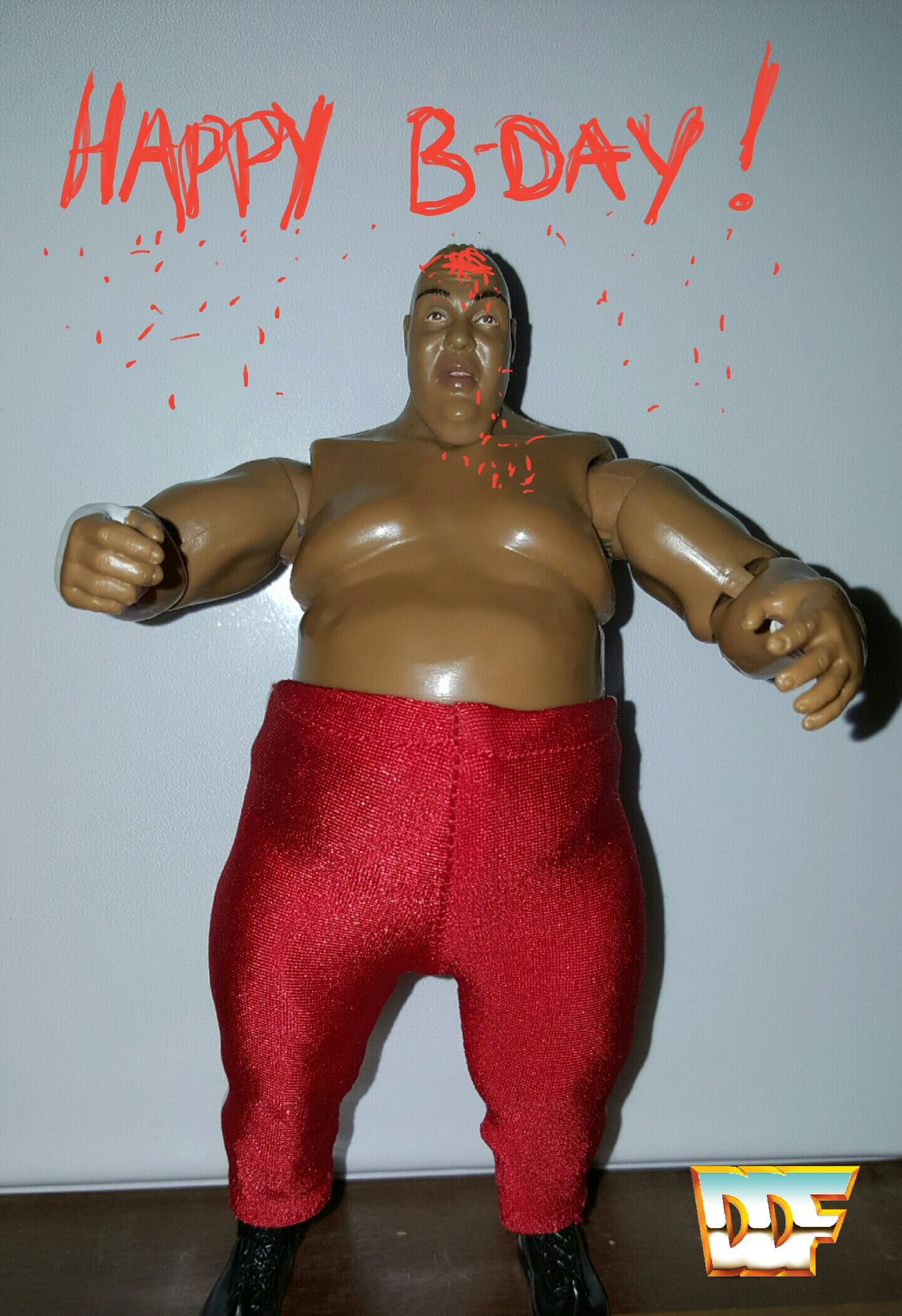 Happy Birthday to Abdullah The Butcher!