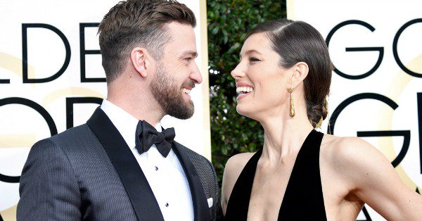Steamy duets? Jessica Biel jokes about singing in the shower with Justin Timberlake.