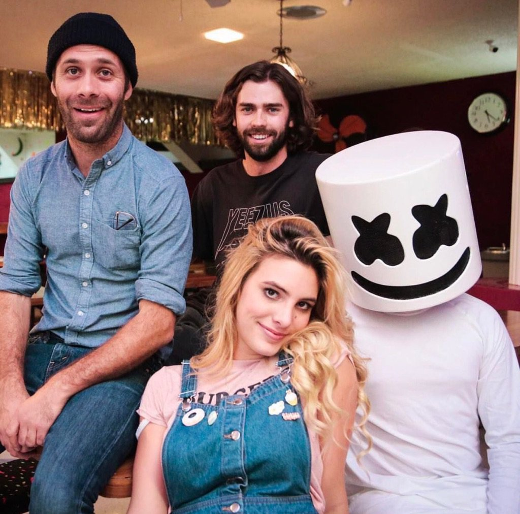A very fun couple of days. @marshmellomusic @lelepons https://t.co/it2T4pszRH