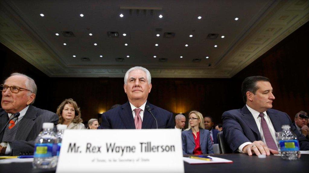 Rex Tillerson doesn't rule out idea of Muslim registry