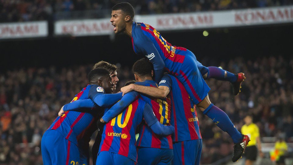 ���� Reactions from Luis Suárez and Rafinha to the 3-1 defeat of Athletic Bilbao: https://t.co/1c6x3Nmy2w #ForçaBarça https://t.co/WjXBGcEcVc