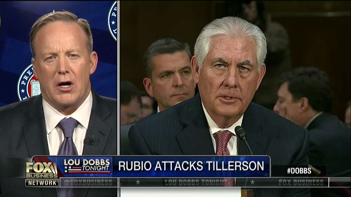 .@seanspicer on Rex Tillerson He knows how to be successful and fight hard. He is a tough negotiator.