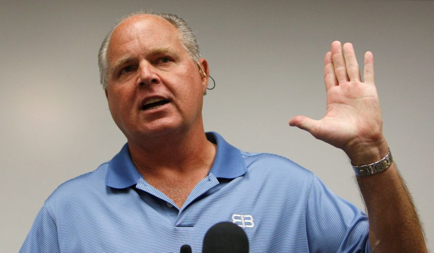 Limbaugh rips CNN, Buzzfeed for 'coordinated' take-down attempt of Trump