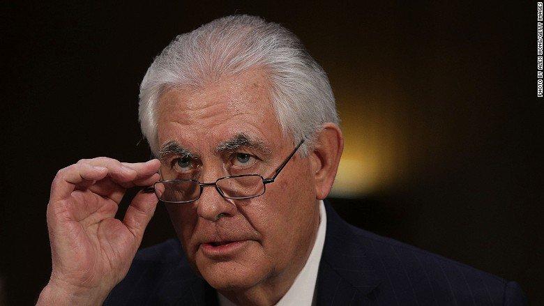 Despite a paper trail, Tillerson denies Exxon lobbied against sanctions