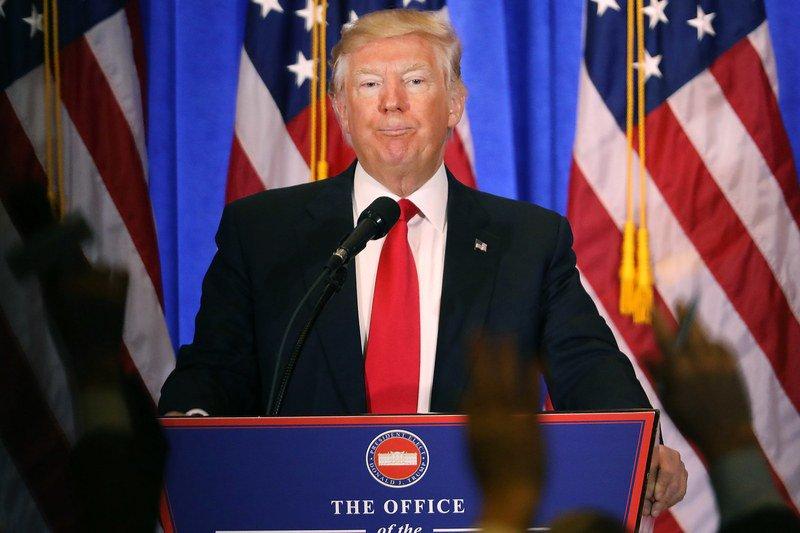 President-elect Donald Trump seems to think he's still running for president https://t.co/Cj7xtJXDvq https://t.co/njPG0g0tjU
