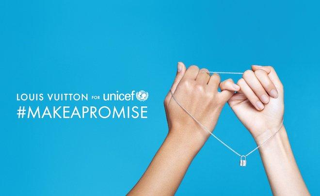 RT @fashionsnap: 【今日】ルイ・ヴィトン、初のチャリティーイベント「#MAKEAPROMISE DAY」を開催   https://t.co/FB79NLRKBF #ルイヴィトン #ユニセフ https://t.co/xhR5JSTBG4