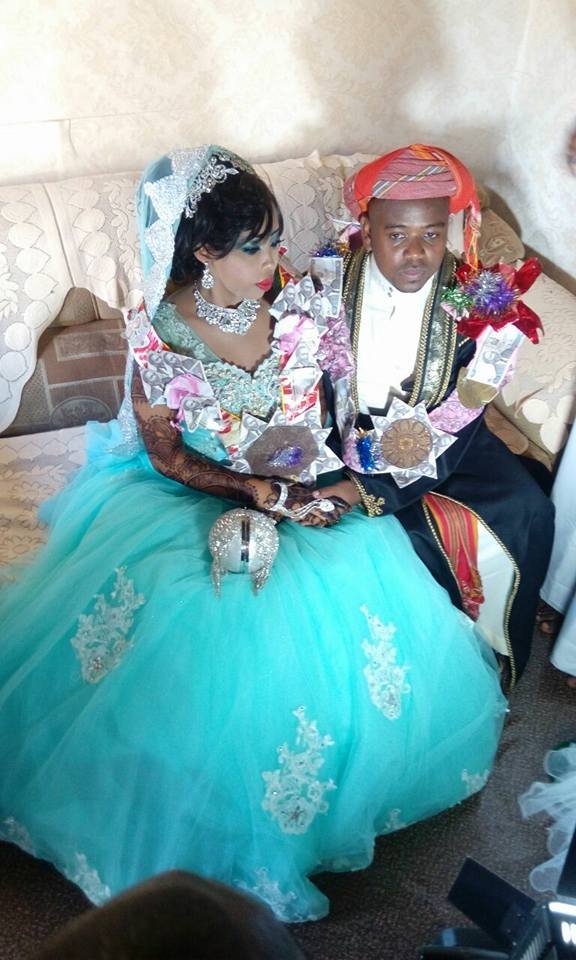 KTN reporter gets married in CLASSIC Swahili wedding (photos)