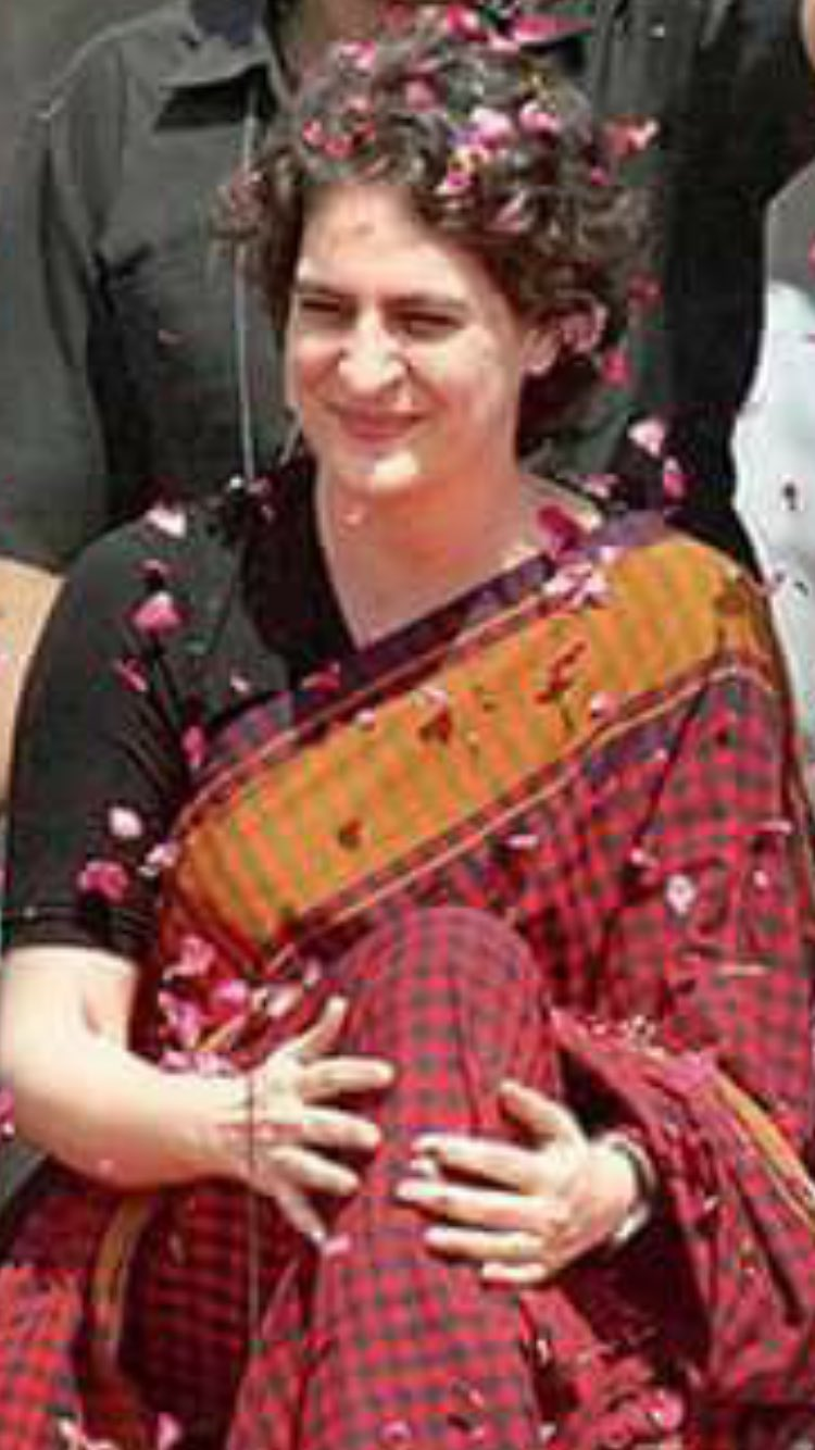Happy Birthday to Priyanka Gandhi.