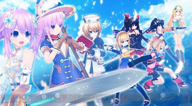 【電撃PS】『四女神オンライン』のオープニングムービーが公開! 公式サイトのキャラクターも更新  #四女神オンライン #