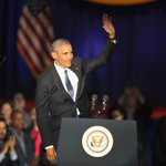 Obama speech: Democracy needs you, says outgoing president