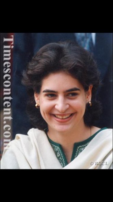 Happy Birthday Priyanka Gandhi ji all the happiness n the best of Health .