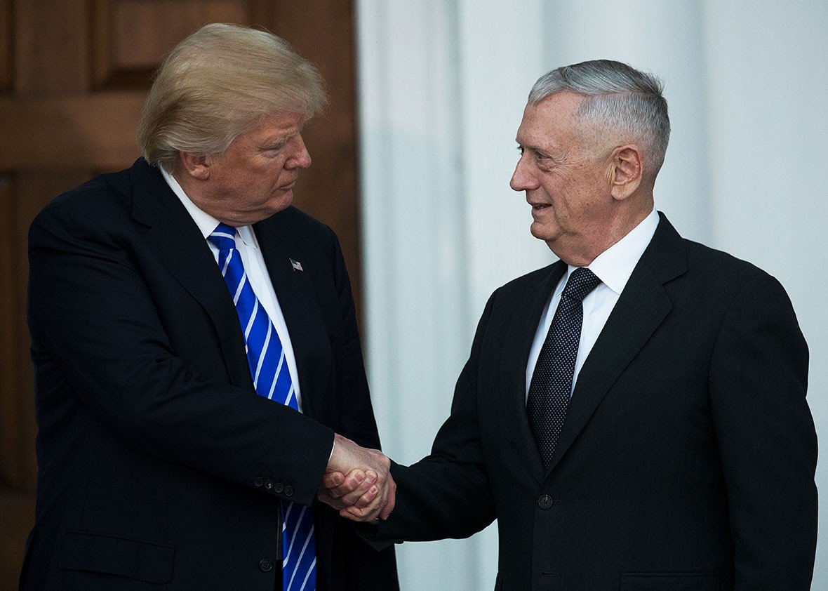 The subject of the Mattis confirmation is that Trump is a dangerous boob: https://t.co/E2HAYCVI1q https://t.co/BYlMiCYw6C