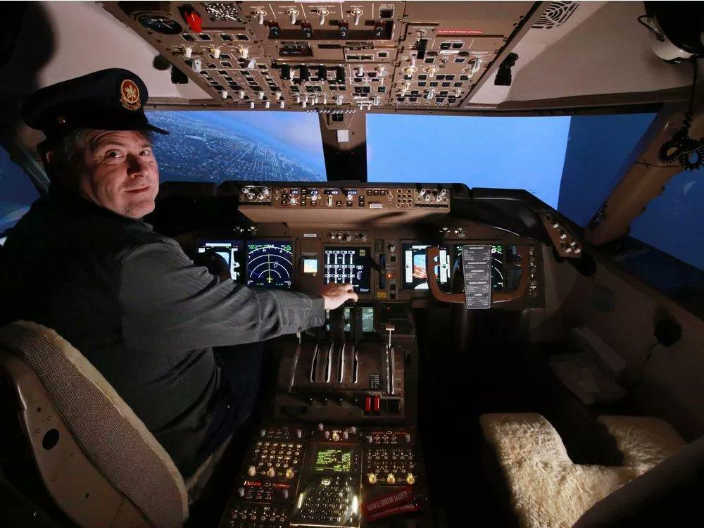 Calgary man schedules regular Boeing 747 flights in basement
