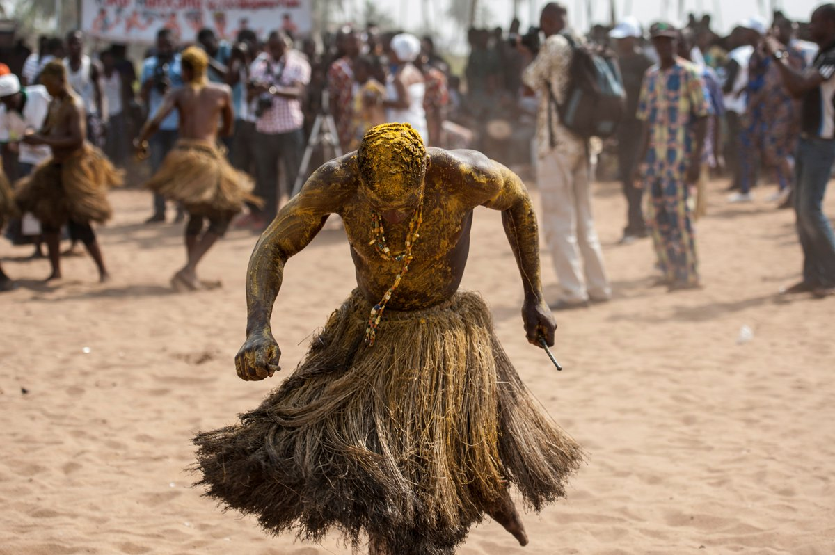 Descendants of slaves on a voodoo pilgrimage in Benin