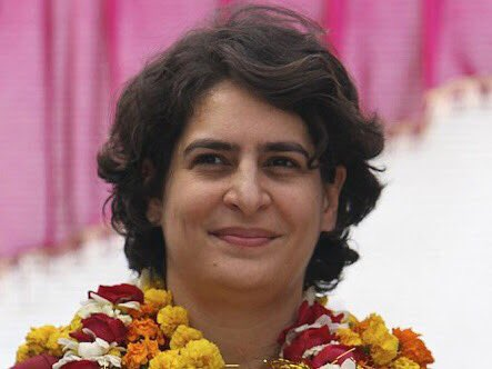 Happy Birthday to my favourite Priyanka Gandhi.