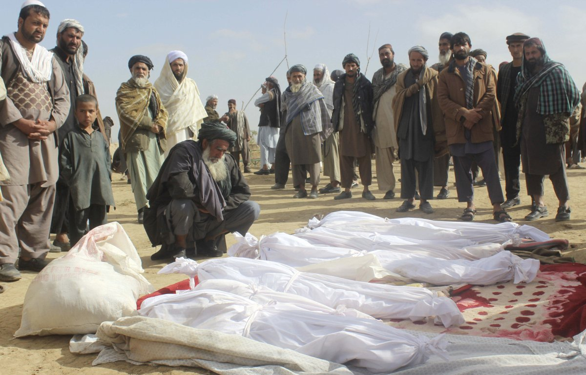 US military says November firefight with Taliban left 33 civilians dead