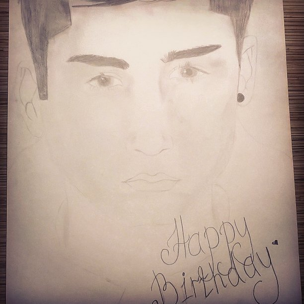 Happy birthday dear Zayn Malik!