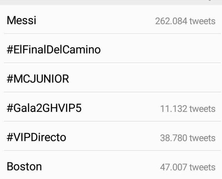 #ElFinalDelCamino: El Final Del Camino