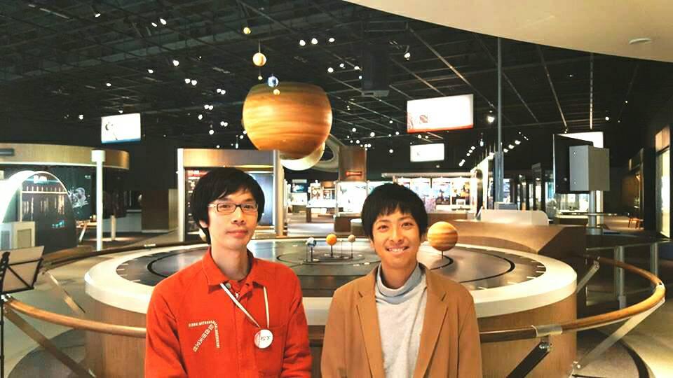 【インタビュー速報!】本日は、 仙台市天文台のスタッフ松下さんにインタビューしました!天文台と言う特殊なお仕事をたっぷり