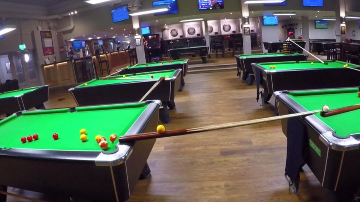 [no comment] Bristol's Allstars Sports Bar pulls off elaborate two-minute trick shot