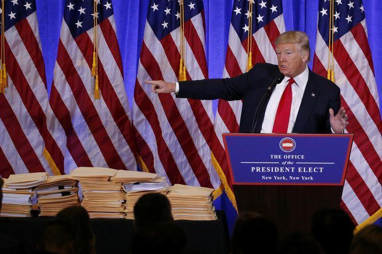 #TrumpPressConference: Trump Press Conference