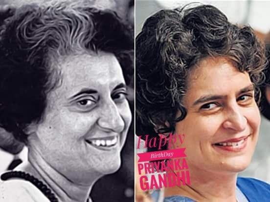 Happy Birthday Priyanka Gandhi..!!