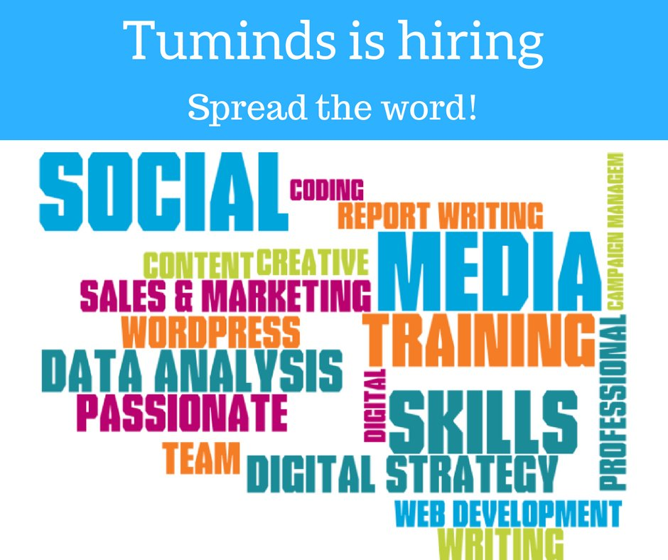 Spread the word, Tuminds is hiring! https://t.co/A740GEDUZ8 #jobopportunity #digital #inverness https://t.co/xDFGDQq4th