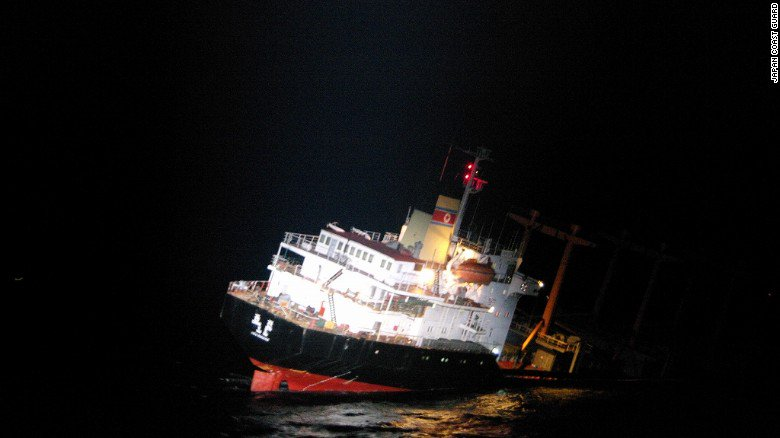 Japan rescued 26 North Koreans from a sinking cargo ship Wednesday https://t.co/3HsCe0VYx4 https://t.co/PNxhTY2w6l