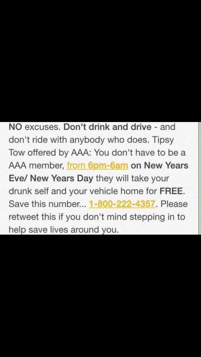 Please be safe tonight.