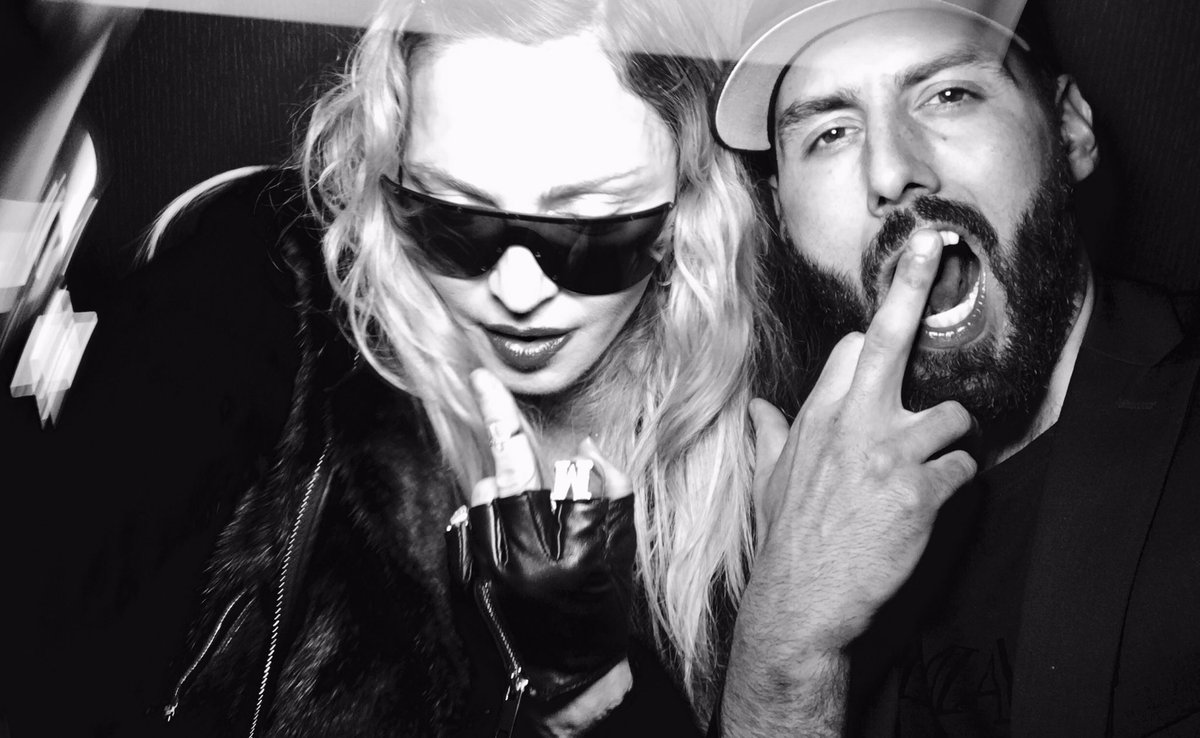 Goodbye 2016 and fuck off !!!! Welcome to the new energy of 2017 !! I love you already @Madonna https://t.co/xsfzxPX00U